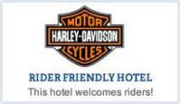 Harley-Davison Rider Friendly